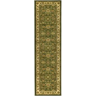 Lyndhurst Collection Majestic Sage/ Ivory Runner (23 X 14)