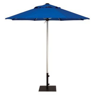 Treasure Garden 7.5 ft. Commercial Series Patio Umbrella Silver Shadow Anodized