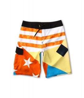 Quiksilver Kids Cypher Echo Boardshort Boys Swimwear (Beige)