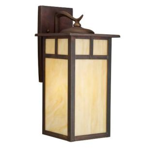 Kichler 9148CV Outdoor Light, Arts and Crafts/Mission Wall 1 Light Fixture Canyon View