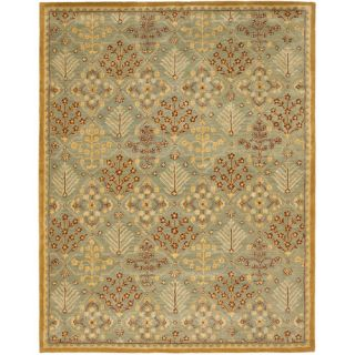 Safavieh Antiquities Light Blue / Gold AT613A Rug Size 96 x 136