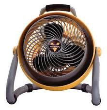 Vornado 293HD (CR1008916) Fan, 3Speed Heavy Duty Shop Air Circulator Yellow