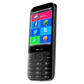 Blu Diva X T372T Unlocked Cell Phone for GSM Compatible   Black
