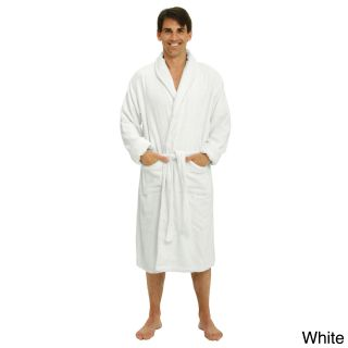 Del Rossa Mens Thick Shawl Collar Terry Cotton Bath Robe