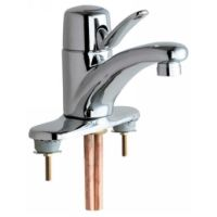 Chicago Faucets 2200 4E2805ABCP Universal Deck Mounted Single Handle Faucets