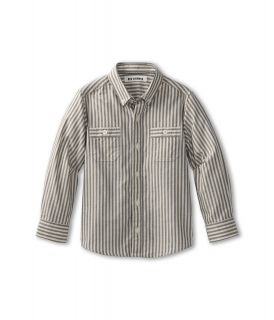 Ben Sherman Kids Maxwell L/S Shirt Boys Long Sleeve Button Up (Gray)