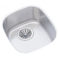Elkay ELU1113DBG Harmony ADA Compliant Undermount Single Bowl Kitchen Sink Packa