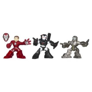 Marvel Iron Man 3 Expo Air Assault Superhero Squad   Pack of 3