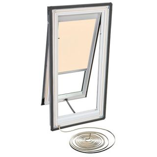 Velux RMH M06 1086 Skylight Blind, Electric Powered Light Filtering for Velux VSE M06 Models Beige