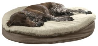 Round Memory Foam Dog Bed Topper Cover / Small Dog Bed Cover