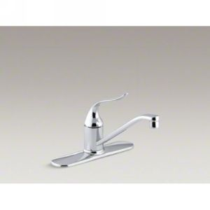 Kohler K 15171 P CP Coralais Single Handle Kitchen Faucet