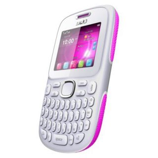 Blu Samba TV Q170T Unlocked Cell Phone for GSM Compatible   White/Pink
