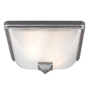 Sea Gull Lighting SEA 7828402BLE 57 Irving Park Two Light Outdoor Ceiling Flush