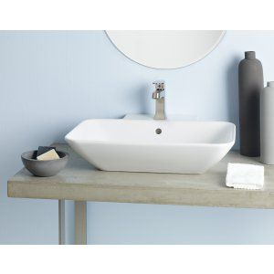Cheviot 1275 WH 1 Element Vessel Sink with Single Hole Faucet Drilling