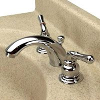 Dynasty Hardware DYN 3624 CM C Spout Two Handle Lavatory Faucet