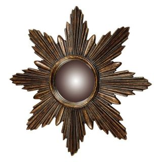 Elk Lighting Bronze Starburst Wall Mirror   6050344