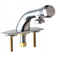 Chicago Faucets 857 665PSHABCP Universal Metering Single Hole Faucet