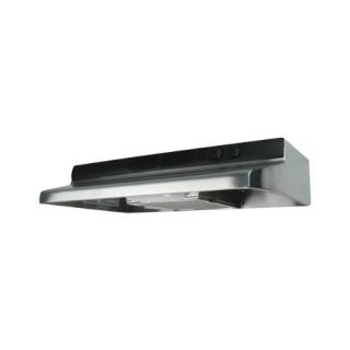 Air King QZ2308 Quiet Zone Under Cabinet Range Hood, 30Inch Wide Stainless Steel