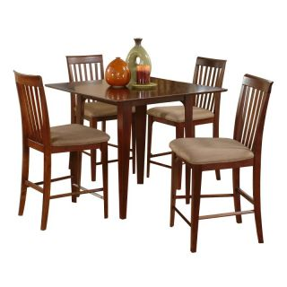 Atlantic Furniture Inc Montreal 5 Piece Pub Table Set   ATF412
