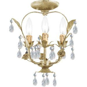 Crystorama Lighting CRY 5823 CM CEILING Paris Flea Market Paris Flea Market 3 Li