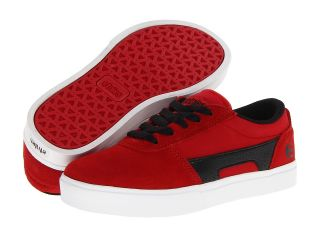 etnies Kids RCT Boys Shoes (Red)