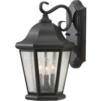 Feiss OL5902BK Martinsville 1 Light Outdoor Lantern