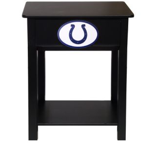 Fan Creations NFL End Table N0533  NFL Team Indianapolis Colts