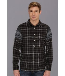 Howe Iron Resin Shirt Mens Long Sleeve Button Up (Black)