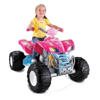 Fisher Price Power Wheels Barbie KFX 12V
