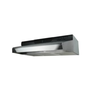 Air King ESDQ1308 Energy Star Deluxe Quiet Under Cabinet Range Hood, 30Inch Wide Stainless Steel