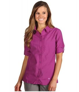 Mountain Hardwear Canyon L/S Shirt Womens Long Sleeve Button Up (Purple)