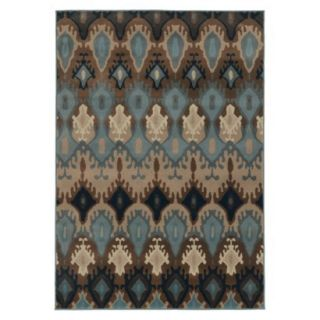 Prismatic Area Rug   Blue (53x76)