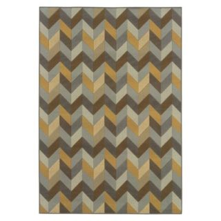 Heidi Chevron Indoor/Outdoor Area Rug (53x76)