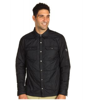 Mountain Hardwear Trekkin Insulated Shacket Mens Long Sleeve Button Up (Black)