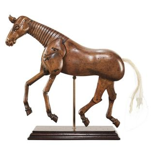 Authentic Models 9H in. Art Horse Statue Multicolor   MG003F