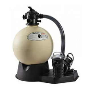 Pentair PNSD0040DO1260 Sand Dollar Aboveground Sand Filter System, 1.5 HP 1.8 Sq. Ft Filter Area