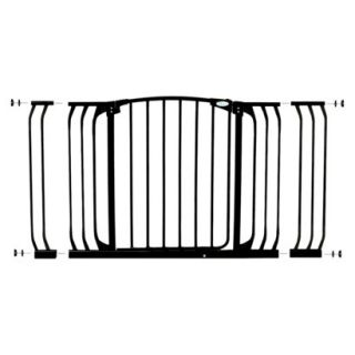 Dreambaby Chelsea Xtra Hallway Swing Close Gate Combo Pack  Black