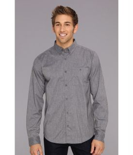 DC Anvil 2 Long Sleeve Shirt Mens Long Sleeve Button Up (Gray)