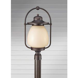 Feiss FEI OLPL7508GBZ Mc Coy 1   Light Outdoor Lantern