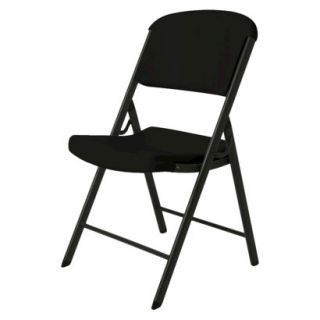 Folding Chair Heavy Duty Folding Chair   Black