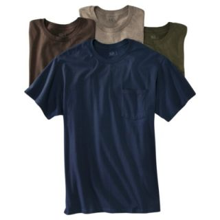 Fruit of the Loom Mens 4 pack Pocket Tee   Assorted Colors 3XL
