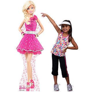 Barbie Polka Dot Dress Standup