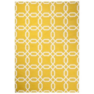 Room 365 Geometric Area Rug   Gully Gold (5x7)