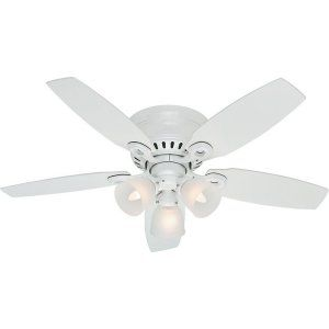 Hunter HUF 52087 Hatherton Traditional Ceiling Fan with light