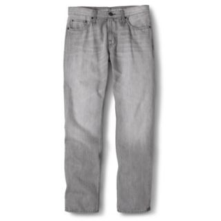 Mossimo Supply Co. Mens Slim Straight Fit Jeans   Gray 34X30
