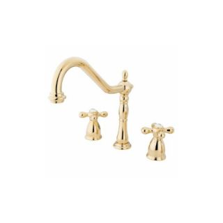 Elements of Design EB1792AXLS New Orleans Two Handle Kitchen Faucet