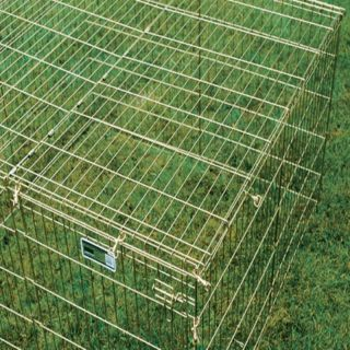 Mid West Metal Products Midwest Wire Mesh Dog Exercise Pen Top Multicolor   540