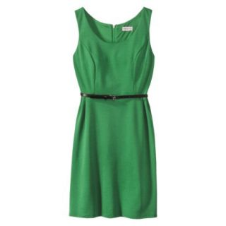 Merona Petites Sleeveless Fitted Dress   Green LP
