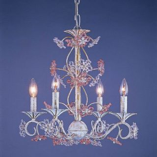 Crystorama 5444 AW Paris Flea Market Chandelier   18W in. Multicolor   5444 AW