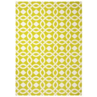 Threshold Indoor/Outdoor Area Rug   Lemon Lime (5x7)